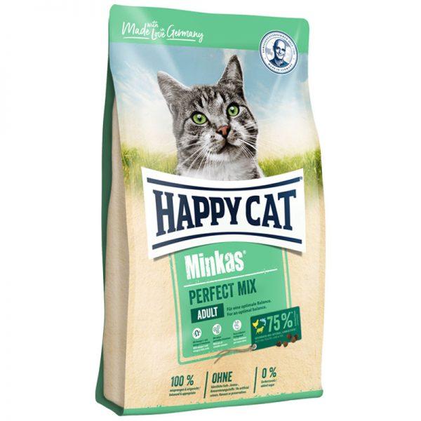 ξηρα τροφη happy cat minkas perfect mix pet shop online νεα ιωνια