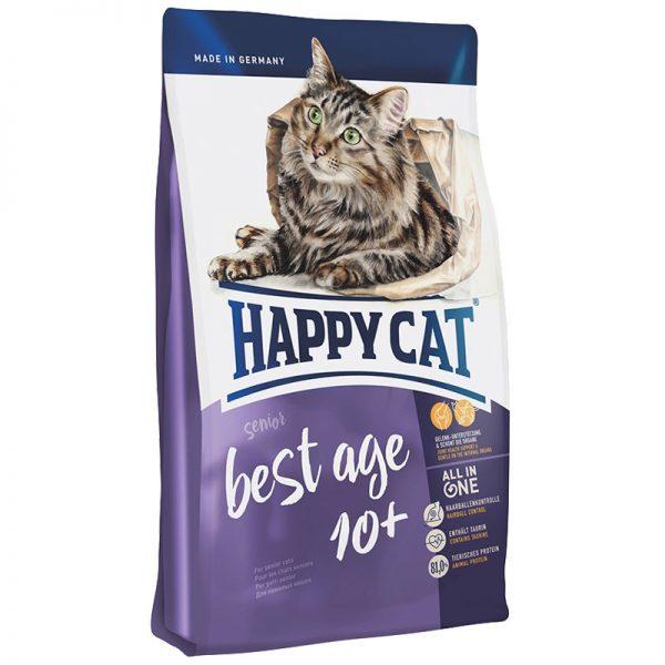 ξηρα τροφη happy cat best age 10+ pet shop online νεα ιωνια