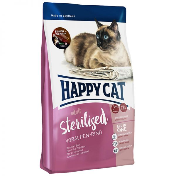 ξηρα τροφη happy cat adult sterilized pet shop online νεα ιωνια
