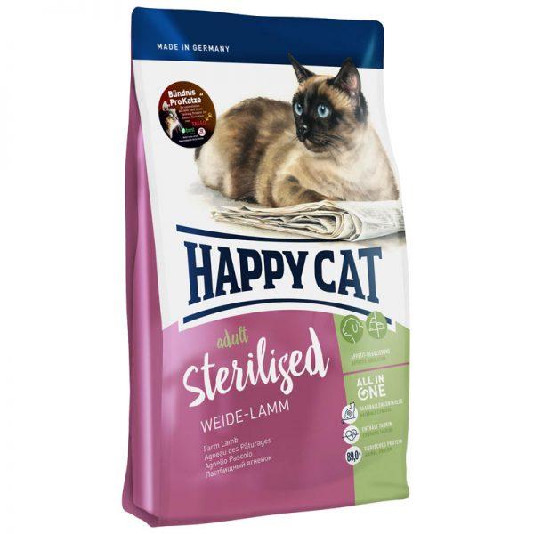 ξηρα τροφη happy cat sterilized pet shop online νεα ιωνια