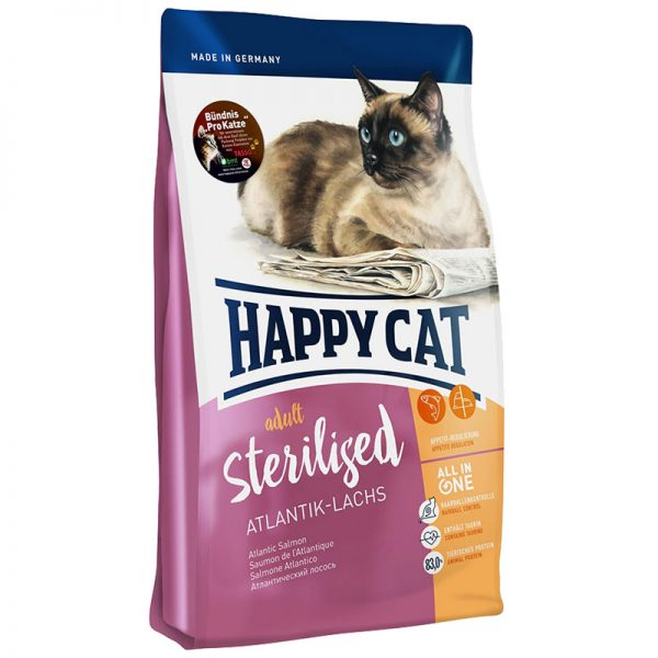 ξηρα τροφη happy cat sterilized atlantik lachs pet shop online νεα ιωνια