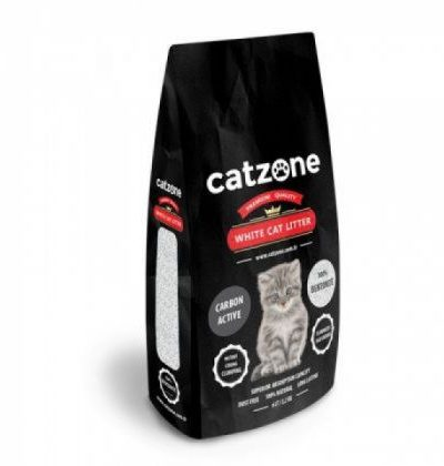 Catzone white cat litter carbon active pet shop online νεα ιωνια
