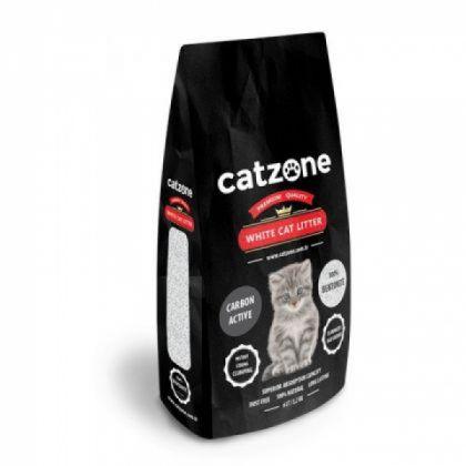 Catzone white cat litter carbon active pet shop online νεα ιωνια
