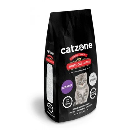 Catzone white cat litter lavender pet shop online νεα ιωνια