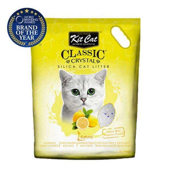 kit cat silica catlitter lemon pet action pet shop