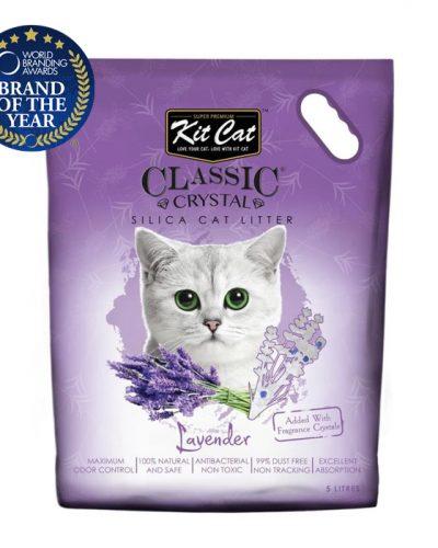 kit cat silica catlitter lavender pet action pet shop
