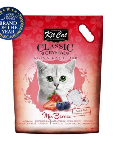 kit cat silica catlitter mix berries pet action pet shop