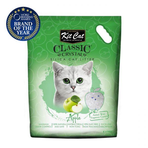 kit cat silica catlitter apple pet action pet shop
