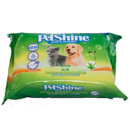 Μαντηλακια aloe Petshine, pet shop online νεα ιωνια