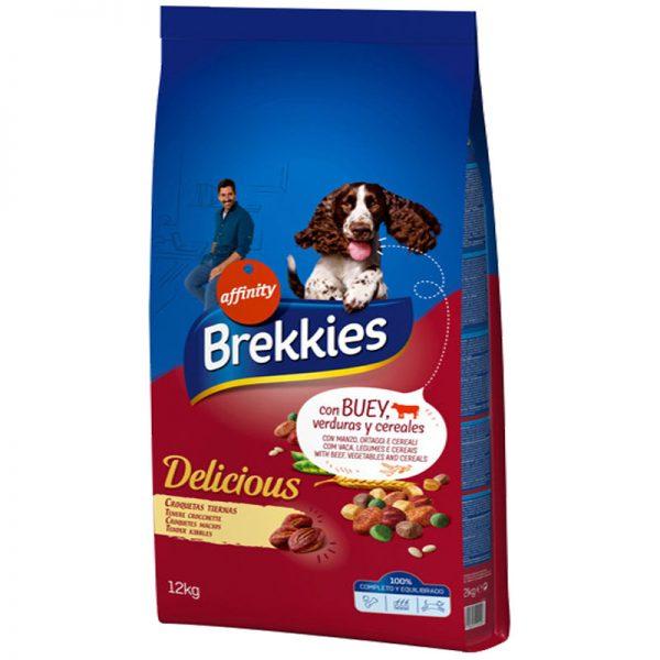 brekkies dogs delicious beef tender pet shop petaction