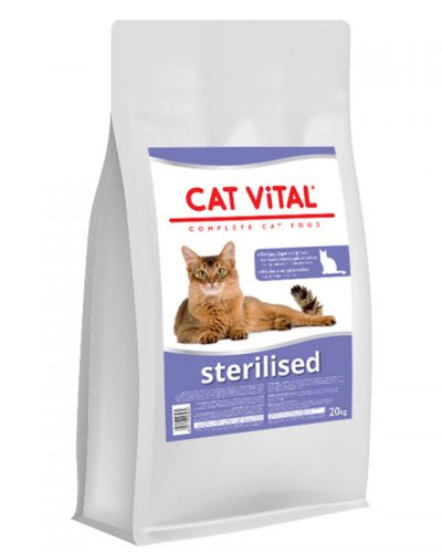 cat vital sterilased adult cats pet shop online νεα ιωνια