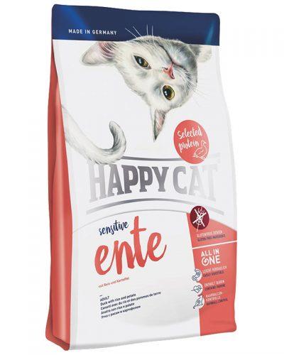 happy cat sensitive παπια grain and gluten free pet shop pet action νεα ιωνια