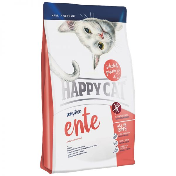 happy cat sensitive παπια grain and gluten free pet shop pet action νεα ιωνια