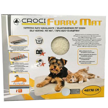 croci furry mat 48x38 pet action pet shop