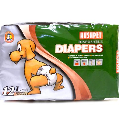 hushpet diapers L pet action pet shop