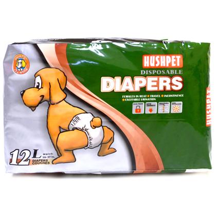 hushpet diapers L pet action pet shop
