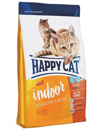happy cat supreme indoor salmon pet shop pet action νεα ιωνια