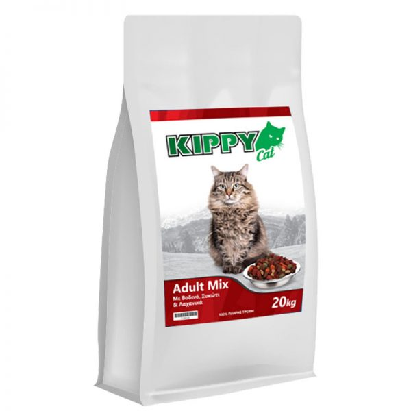 kippy cat adult mix pet shop online νεα ιωνια