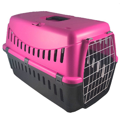 Pet camelot κλουβι μεταφοράς φουξια pet shop petaction