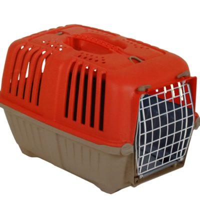 mps κλουβι μεταφοράς κοκκινο pet shop petaction