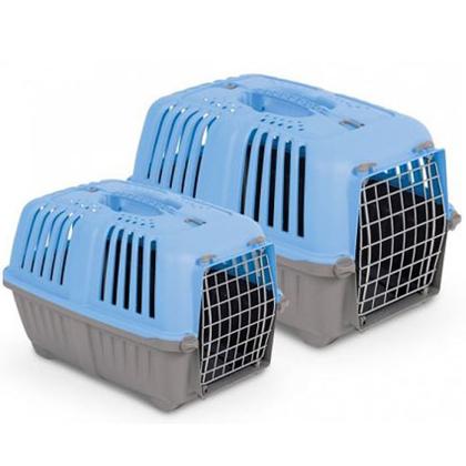 mps κλουβι μεταφοράς μπλε pet shop petaction
