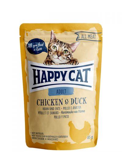 happy cat adult chicken and duck pet shop online νεα ιωνια