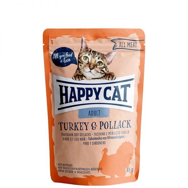 happy cat adult turkey and pollack pet action pet shop