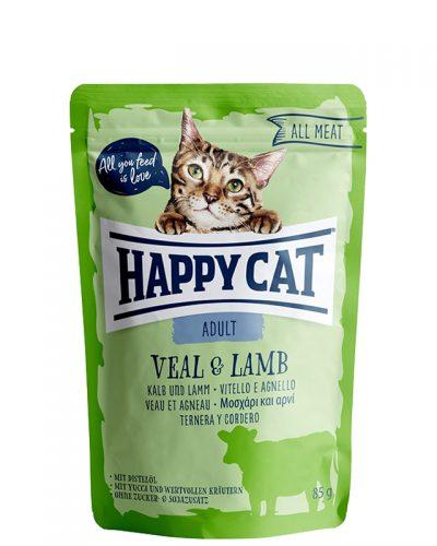 happy cat adult veal and lamb pet action pet shop