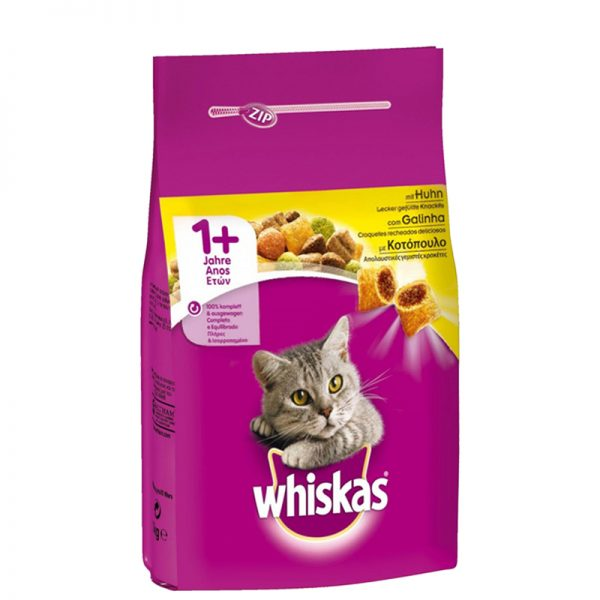 whiskas for cats with chicken pet shop online νεα ιωνια