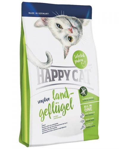 happy cat πουλερικα sensitive grain and gluten free pet shop pet action νεα ιωνια