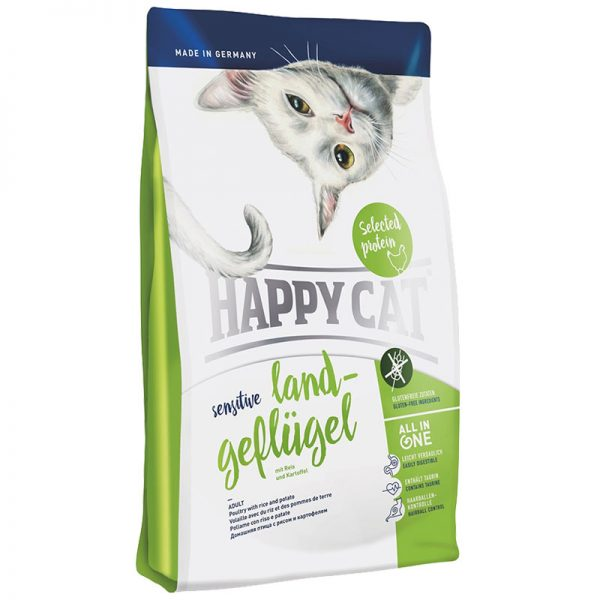 happy cat πουλερικα sensitive grain and gluten free pet shop pet action νεα ιωνια