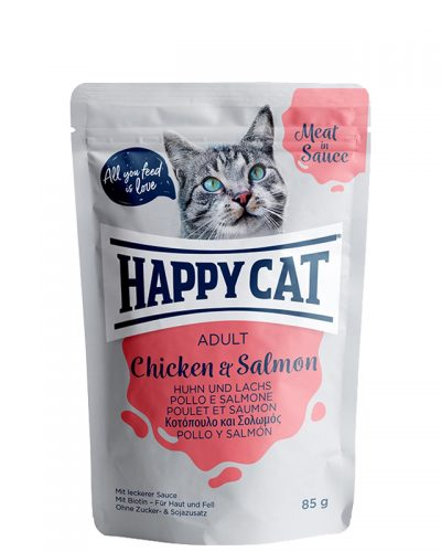 happy cat adult chicken and salmon pet action pet shop