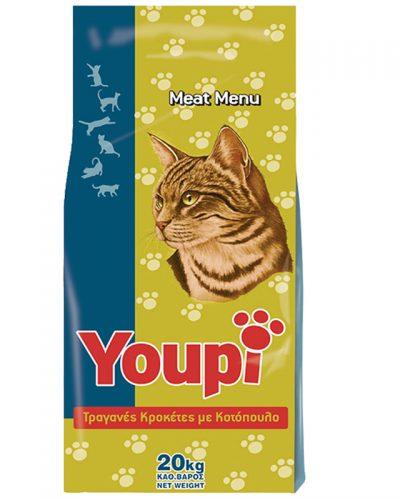 Ξηρα τροφη για γατες youpi pet shop online νεα ιωνια