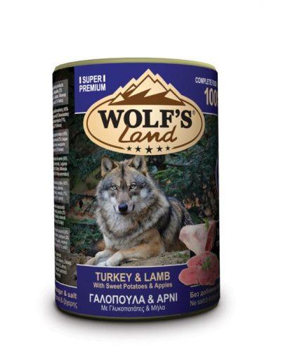 wolfs land turkey and lamb pet shop online νεα ιωνια