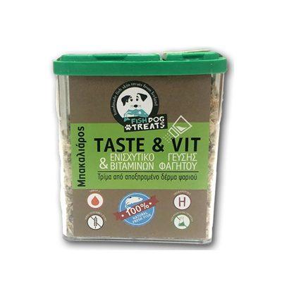 taste and vit μπακαλιαρος pet shop online νεα ιωνια