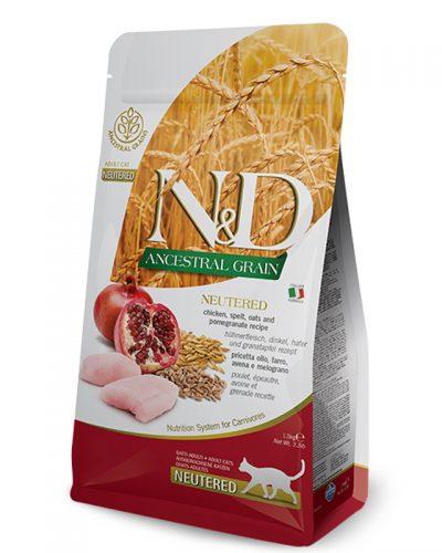 nd ancestral grain cat neutered pet shop online νεα ιωνια