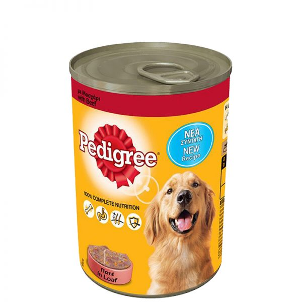 pedigree manzo 400gr pet action pet shop