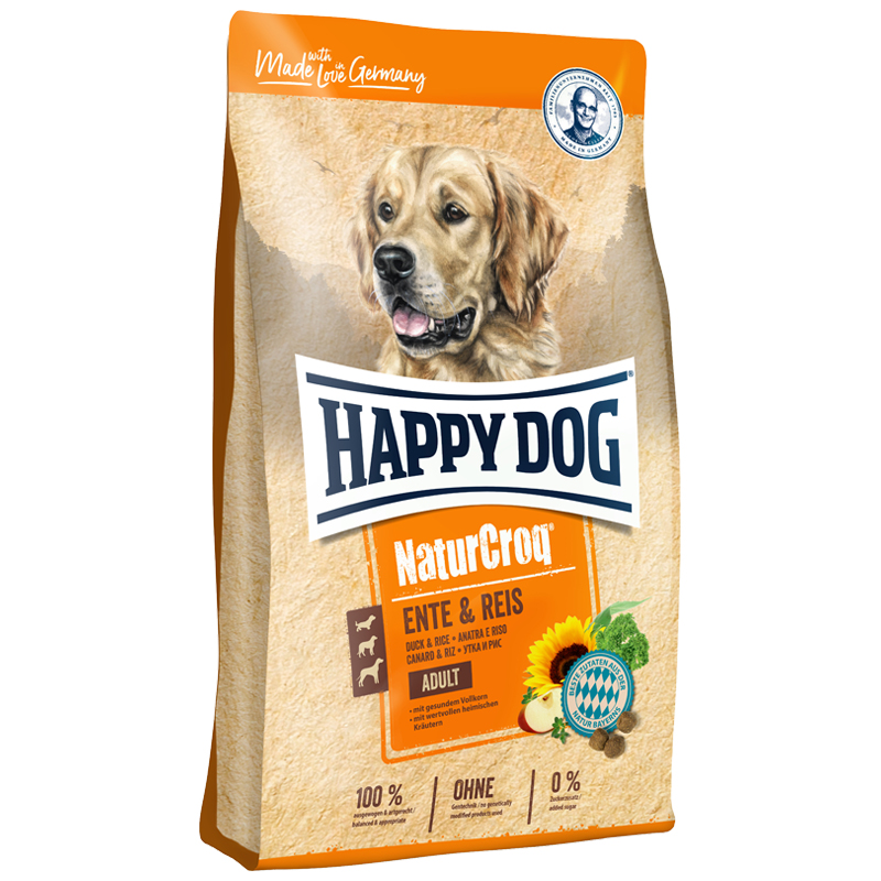 HAPPY DOG – NATURCROQ DUCK ADULT GLUTEN FREE 12KG